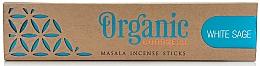 Düfte, Parfümerie und Kosmetik Duftstäbchen Weißer Salbei - Song Of India Organic Goodness White Sage