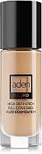 Düfte, Parfümerie und Kosmetik Deckende Fluid Foundation - Aden Cosmetics High Definition Fluid Foundation
