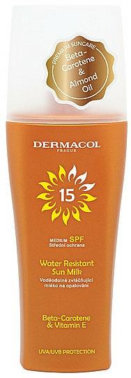 Wasserfestes Sonnenschutzmilch-Spray SPF 15 - Dermacol Sun Water Resistant Milk Spray SPF15 — Bild N1