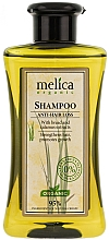 Düfte, Parfümerie und Kosmetik Pflegeshampoo gegen Haarausfall mit Kalmusextrakten - Melica Organic Anti-hair Loss Shampoo
