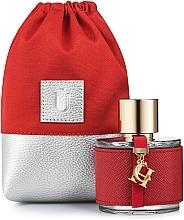 Düfte, Parfümerie und Kosmetik Baumwollsäckchen Perfume Dress rot (ohne Inhalt) - MakeUp