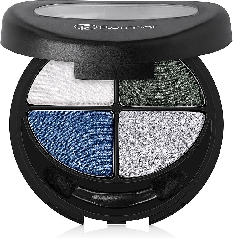 Lidschatten - Flormar Compact Quartet Eye Shadow