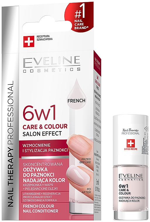 6in1 Stärkender Nagelkur - Eveline Cosmetics Nail Therapy Professional