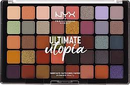 Düfte, Parfümerie und Kosmetik Lidschattenpalette - NYX Ultimate Utopia Shadow Palette Summer 2020