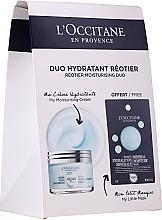 Düfte, Parfümerie und Kosmetik Gesichtspflegeset - L'Occitane Aqua Reotier (Gesichtscreme 50ml + Gesichtsmaske 6ml)