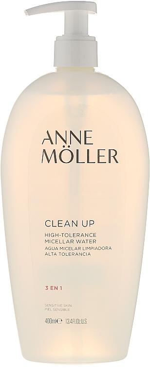 3in1 Mizellen-Reinigungswasser für empfindliche Haut - Anne Möller CLEAN UP 3 IN 1 High Tolerance Micellar Water — Bild N1