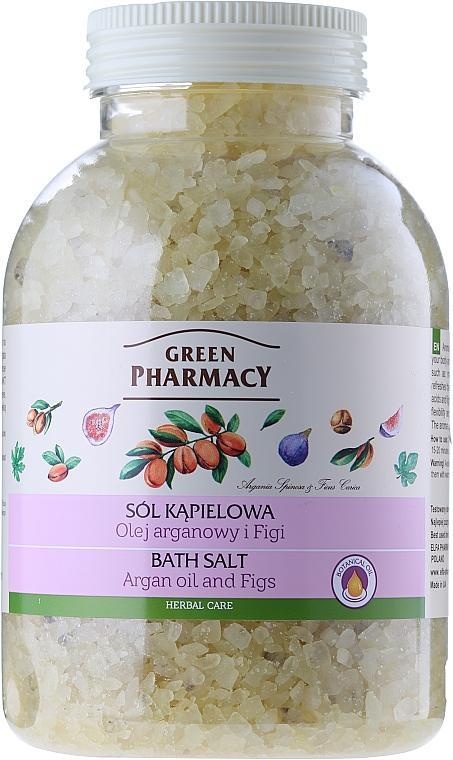 Badesalz mit Arganöl und Feige - Green Pharmacy