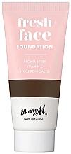 Düfte, Parfümerie und Kosmetik Flüssige Foundation mit Aroniabeeren, Vitamin C und Hyaluronsäure - Barry M Fresh Face Liquid Foundation