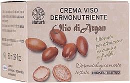 Düfte, Parfümerie und Kosmetik Nährende Gesichtscreme mit Arganöl - Florinda Olio di Argan Face Cream