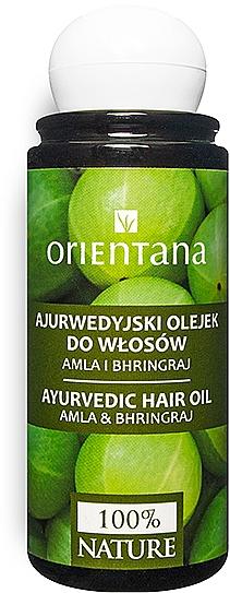 "Ayurvedisches Haaröl ""Amla und Bhringraj"" - Orientana Amla & Bhringraj Ayurvedic Hair Oil"