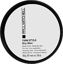 Düfte, Parfümerie und Kosmetik Feuchtigkeitsabweisendes und definierendes trockenes Wachs für alle Haartypen - Paul Mitchell Firm Style Dry Wax