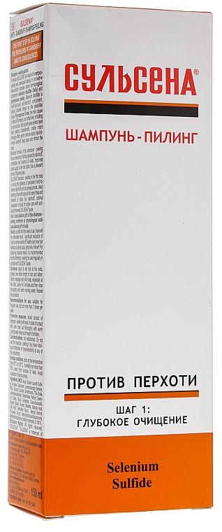 Tiefenreinigendes Anti-Schuppen Shampoo-Peeling - Tief reinigendes Anti-Schuppen Shampoo