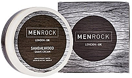 Düfte, Parfümerie und Kosmetik Rasiercreme mit Sandelholz - Men Rock Sandalwood Shave Cream