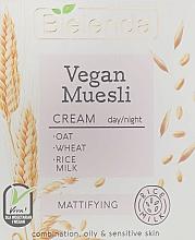 Düfte, Parfümerie und Kosmetik Mattierende Gesichtscreme - Bielenda Vegan Muesli Mattifying Day Night Cream