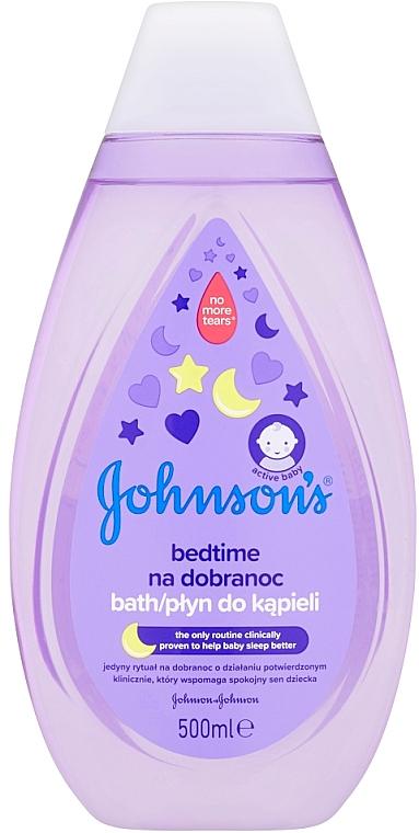 Beruhigender Badeschaum für Babys - Johnson's Baby
