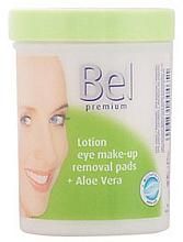 Düfte, Parfümerie und Kosmetik Feuchte Wattepads zum Abschminken mit Aloe Vera - Bel Premium Lotion Eye Make-Up Pads Aloe Vera
