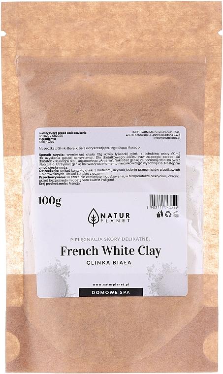 Gesichtsmaske mit weißer Tonerde - Natur Planet French White Clay
