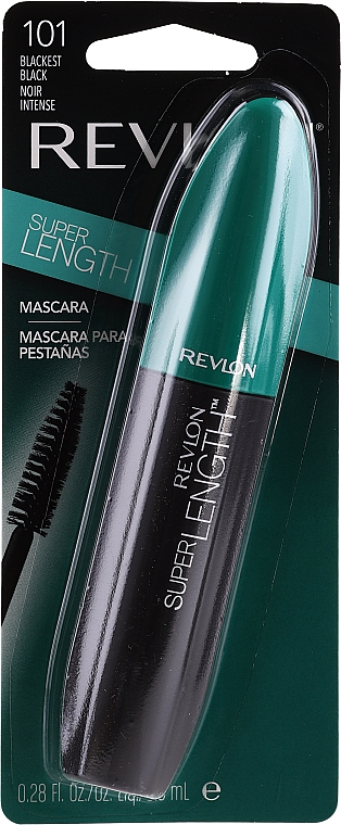 Wasserfeste Mascara für lange Wimpern - Revlon Super Length Waterproof Mascara