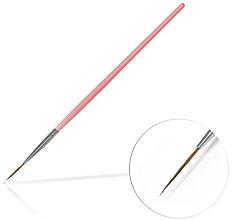 Düfte, Parfümerie und Kosmetik Nageldekoration-Pinsel 15 mm Pink - Silcare Brush 03