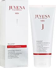 Düfte, Parfümerie und Kosmetik 2in1 Feuchtigkeitsspendendes Shampoo und Duschgel - Juvena Rejuven Men Moisture Boost Shower & Shampoo Gel