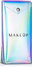 Düfte, Parfümerie und Kosmetik Pinsel Etui, Holographic - MakeUp H:20 x B:10 x T:4 cm