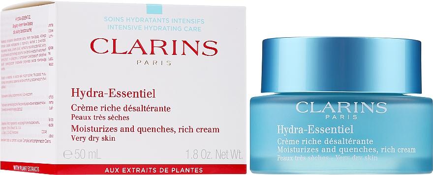 Feuchtigkeitscreme für trockene Haut - Clarins Hydra-Essentiel Rich Cream — Bild N2