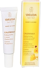 Düfte, Parfümerie und Kosmetik Schützende und pflegende Babycreme gegen Windelausschlag mit Ringelblume - Weleda Calendula Babycream (Mini)