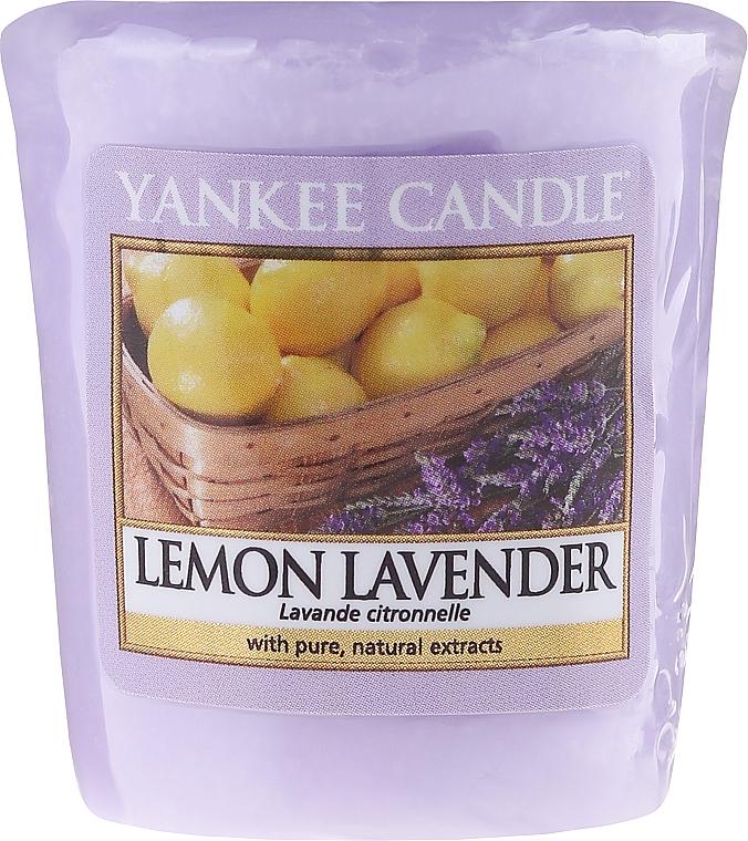 Votivkerze Lemon Lavender - Yankee Candle Lemon Lavender Sampler Votive