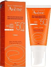 Düfte, Parfümerie und Kosmetik Sonnenschutzcreme für das Gesicht SPF 50+ - Avene Eau Thermale Sun Cream SPF50