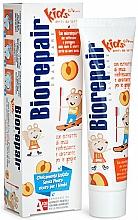 Düfte, Parfümerie und Kosmetik Zahnpasta für Kinder mit Pfirsichgeschmack - Biorepair Kids Milk Teeth