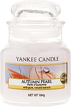 Düfte, Parfümerie und Kosmetik Duftkerze im Glas Autumn Pearl - Yankee Candle Autumn Pearl Jar