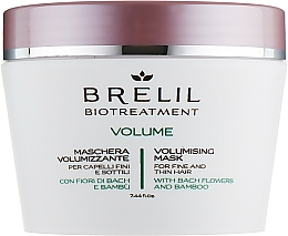 Düfte, Parfümerie und Kosmetik Haarmaske für mehr Volumen mit Bach-Blüten und Bambus - Brelil Bio Treatment Volume Hair Mask