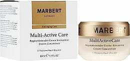 Düfte, Parfümerie und Kosmetik Regenerierendes Creme-Konzentrat für trockene Haut - Marbert Anti-Aging Care MultiActive Care Regenerating Cream Concentrate