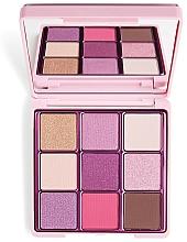 Düfte, Parfümerie und Kosmetik Lidschattenpalette - I Heart Revolution One True Love Glitter Eyeshadow Palette