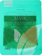 Düfte, Parfümerie und Kosmetik Beruhigende Tuchmaske mit grünem Tee - Elroel Golden Hour Mask Green Tea Soothing