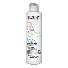 Düfte, Parfümerie und Kosmetik Reparierendes Shampoo für strapaziertes Haar mit Macadamiaöl - H.Zone Oil Macadamia Repair Shampoo