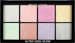 Düfte, Parfümerie und Kosmetik Highlighter-Palette - Makeup Revolution Ultra Cool Glow