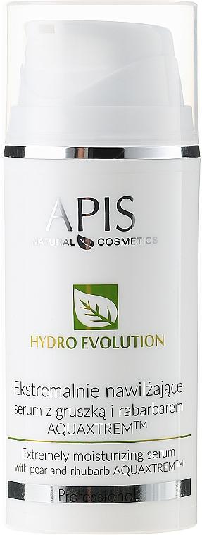 Feuchtigkeitsspendendes Gesichtsserum mit Birne und Rhabarber - APIS Professional Hydro Evolution Extremely Moisturizing Serum