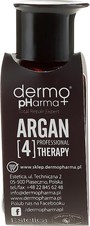 Feuchtigkeitsspendendes und regenerierendes Serum für Haar, Körper und Nägel mit Argan - Dermo Pharma Argan Professional 4 Therapy Multiactive Serum Hair Body Nail Argan