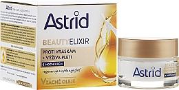 Düfte, Parfümerie und Kosmetik Feuchtigkeitsspendende Anti-Falten Nachtcreme - Astrid Moisturizing Anti-Wrinkle Day Night Cream