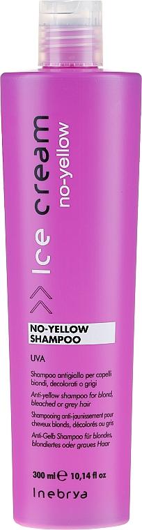 Shampoo für blondes Haar - Inebrya Ice Cream No-Yellow Shampoo