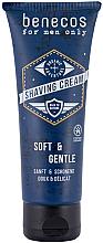 Düfte, Parfümerie und Kosmetik Sanfte und schonende Rasiercreme - Benecos For Men Only Shaving Cream