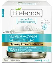 Düfte, Parfümerie und Kosmetik Aktive feuchtigkeitsspendende Gesichtscreme für Tag und Nacht - Bielenda Skin Clinic Professional Mezo Anti-age
