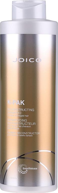 Aktiv regenerierendes Shampoo für strapaziertes Haar mit Peptidkomplex - Joico K-Pak Reconstruct Shampoo