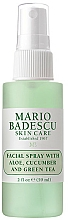 Düfte, Parfümerie und Kosmetik Gesichtsspray mit Aloe-, Gurken- und Grüntee-Extrakt - Mario Badescu Facial Spray Aloe, Cucumber & Green Tea