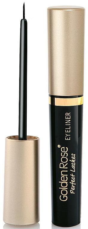 Eyeliner - Golden Rose Perfect Lashes Black EyeLiner
