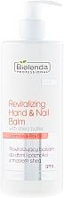 Düfte, Parfümerie und Kosmetik Regenerierender Hand- und Nagelbalsam SPF 6 - Bielenda Professional Hand Program Revitalizing Hand & Nail Balm SPF 6