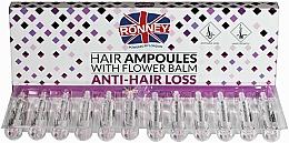 Düfte, Parfümerie und Kosmetik Ampullen gegen Haarausfall - Ronney Hair Ampoules With Flower Balm Anti-Hair Loss