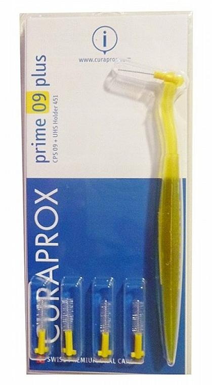 Interdentalzahnbürsten mit Halter Prime Plus CPS 09 gelb 4 St. - Curaprox Prime Plus — Bild N1