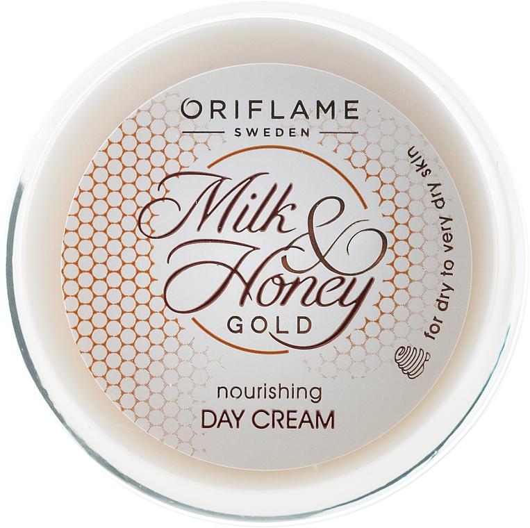 Pflegende Tagescreme mit Milch und Honig für trockene und sehr trockene Haut - Oriflame Milk & Honey Gold Day Cream — Bild N3